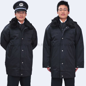 Custom Security Guard Coat for Winter (SEU05) pictures & photos