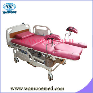 Economic Hospital Birthing Bed with CD Player pictures & photos