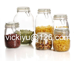 1L~10L Food Glass Storage Jars, Glass Storage Containers pictures & photos