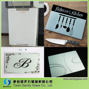 Morden Design Tempered Glass Cutting Board Manufacture pictures & photos