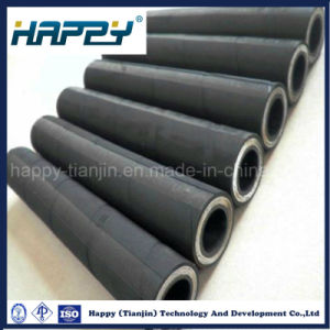 China Supplier Hydraulic Steel Wire Braid Rubber Hose 4sh pictures & photos