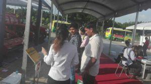 Aidi Brand 4WD Hst Diesel Engine Machine Boom Sprayer for Vegetable Field pictures & photos