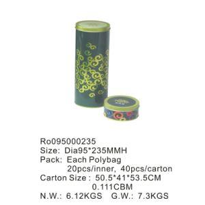 OEM Metal Tea Tin Box with Printing Custom Logo pictures & photos