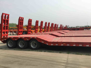 ISO CCC SGS Low Bed Semi Trailer pictures & photos