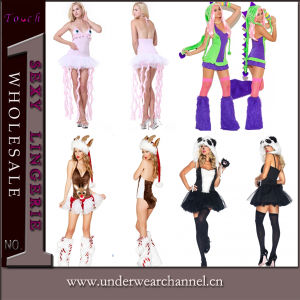 Sexy Fancy Dresses Halloween Animal Fairy Tales Party Costume (TDD80501) pictures & photos