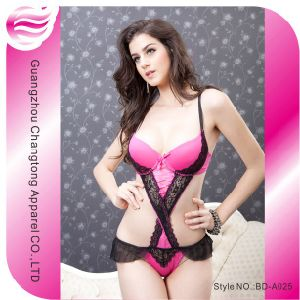 Sexy Lady Lingerie Underwear Night Dress (BD-A029)