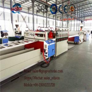 PVC/WPC Foam Board Production Line Plastic Board Extrusion Line PVC Foam Board Machine PVC Crust Foam Board Production Line pictures & photos