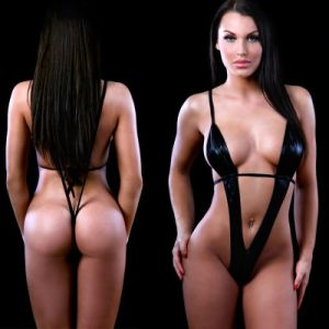Hot Selling Adult Women Night Wear Dress Underwear Set Sexy Lingerie pictures & photos