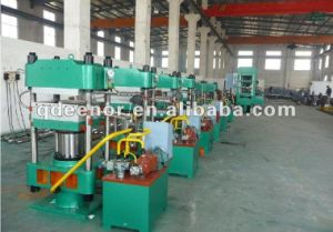 Newest Type Rubber Tile Vulcanizing Machine / Rubber Tile Press Machine / Rubber Mat Manufacturing Machine pictures & photos