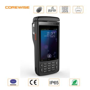 Corewise Thermal Printer POS Terminal with GPRS WiFi 4G Lte, Fingerprint Sensor, Barcode Scanner, RFID Reader, Msr, Psam, Contact IC Card Reader - Cpos800 pictures & photos