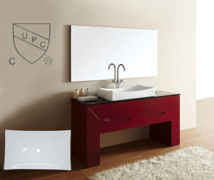Big Size Cupc Porcelain Lavatory Sink for Bathroom Vanity (SN148) pictures & photos