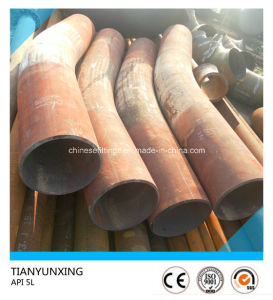 API 5L X52 Heat Treatment Pipe Bend with Tangent pictures & photos