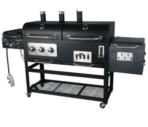 New Design Gas & Charcoal Grill with 4 Burners pictures & photos