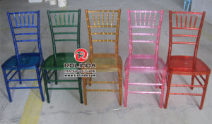 Resin Chivari Chair with Cushion of Different Colors pictures & photos