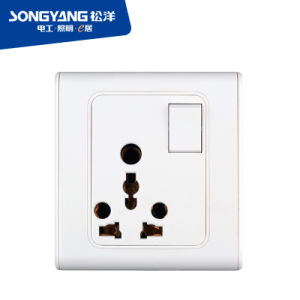 2016 Dubai Big5 Online Exhibition Switch Socket