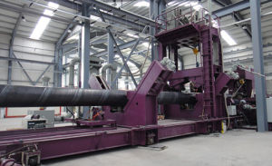 Spiral Welding Pipe Procuction Machine Line pictures & photos