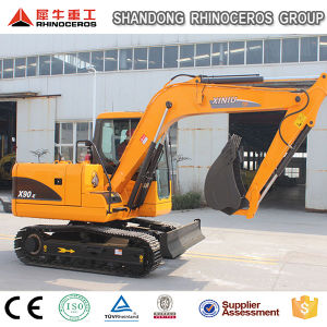 9t Track Excavator/Crawler Excavator X90-E Can Be with Track Pad pictures & photos