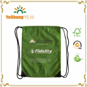 Low Price Promotional 210t Polyester Drawstring Bag Backpack Drawstring pictures & photos