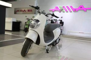 800W Light Weight Mini Type Electric Motorcycle for Lady pictures & photos