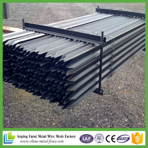 Black Pinted Steel Star Picket pictures & photos
