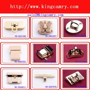 High Quality Zinc Alloy Material Handbag Press Lock for Bag pictures & photos