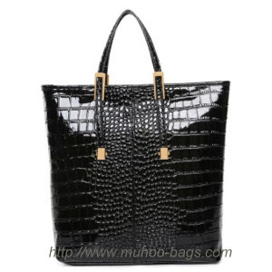 High Quality Snake Leather Handbag for Lady (MH-6029) pictures & photos