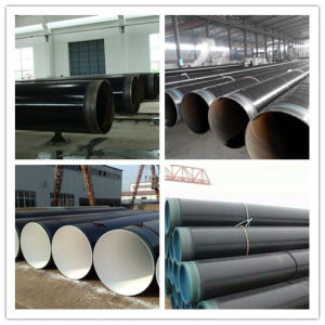 Ipn8710 3PE Larger Diameter Anticorrosion Spiral Steel Pipe pictures & photos