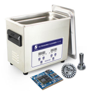 3.2 Liters Heated Digital Ultrasonic Cleaner for Diesel Injector, Nozzle pictures & photos