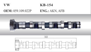 Auto Camshaft for VW (059.109.022p) pictures & photos
