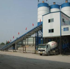Belt Convey Concrete Mixing Plant (HZS180) pictures & photos