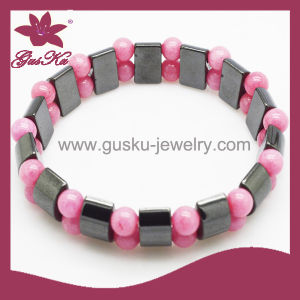Fashion Silicone Bead Bracelet Jewelry (2015 Htb-092) pictures & photos