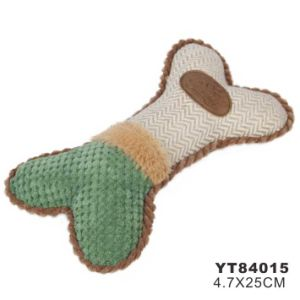 Bone Shape Pet Toy for Dog Scratcher (YT84015) pictures & photos