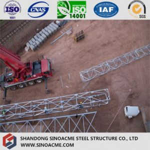 Heavy Steel Truss Structure for Chemical Plant Tank Support pictures & photos