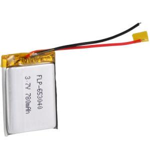 Lithium Battery 3.7V 780mAh Rechageable Battery Pack