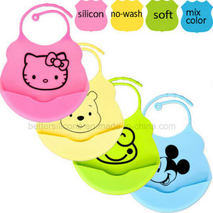Hot Sale Wholesale Silicone Rubber Baby Bibs pictures & photos