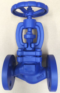 DIN globe valve with flange end PN16 pictures & photos