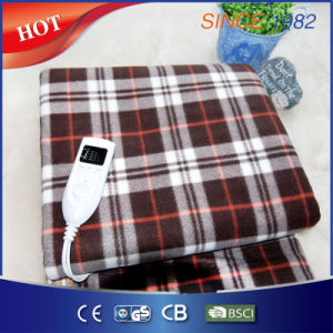 Soft Fleece Electric Heated Under Blanket with Over Heat Protection pictures & photos