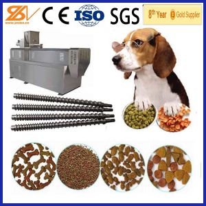 Screw Extruder Automatic Dry Nutritional Dog Food Machine pictures & photos