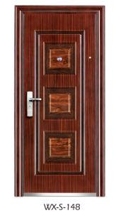 Competitive Steel Security Door (WX-S-148) pictures & photos