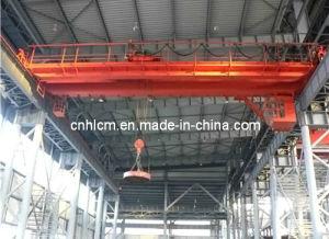 Double Girder Overhead Bridge Crane with Electromagnet pictures & photos