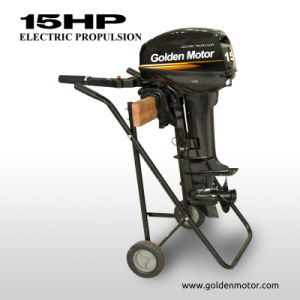Electric Outboard Motor 15HP pictures & photos