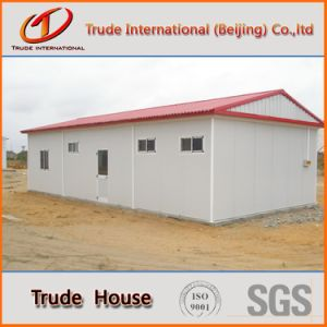 Low Cost Prefabricated/Mobile/Modular Building/Prefab Color Steel Sandwich Panels Decorative Houses pictures & photos