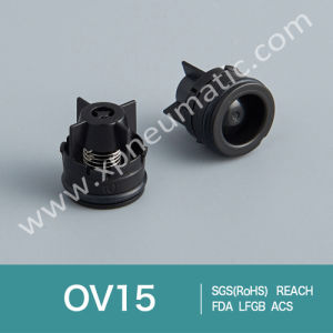 Plastic Non Return Half Round Shower Check Valve Ov15 pictures & photos