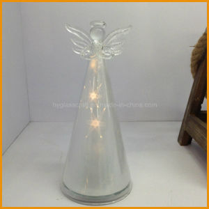 2016 New Year Crystal Ornament Glass Christmas Angels (8.5*19cm) pictures & photos