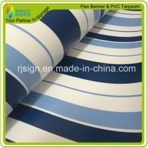 High Quality 5m Width Stripe Coated Tarpaulin pictures & photos