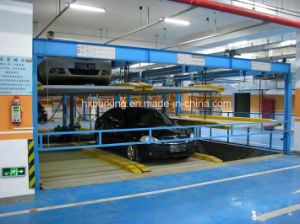 Psh3-D1 Three-Storey Lifting and Sliding Garage