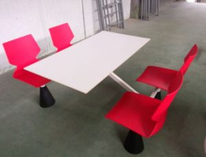 Fast Food Restaurant Canteen Table and Chair pictures & photos