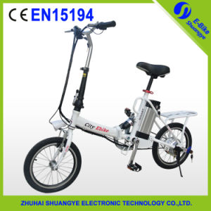 2015 Hot Lady Style Foldable Electric Bike Shuangye A3 pictures & photos