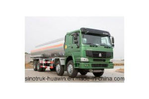 8X4 30000liters HOWO Fuel Truck, Fuel Tanker Truck pictures & photos