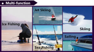 Fashion Waterproof Fishing Tackle Jacket with High Quality (QF-9072) pictures & photos